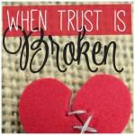 When Trust Is Broken