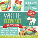 White Elephant Party Printable Kit
