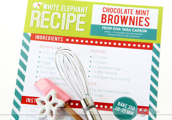 White Elephant Party Dessert Recipes