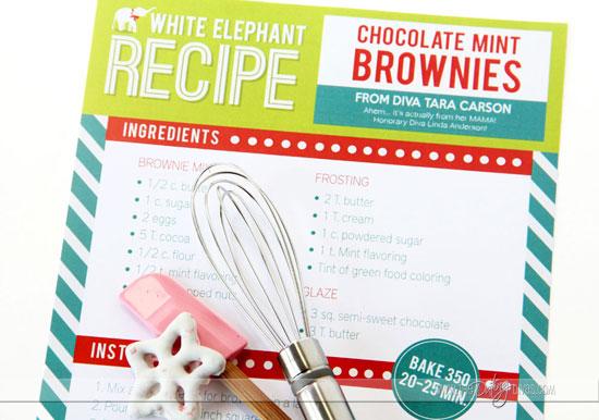 White Elephant Party Dessert Recipes