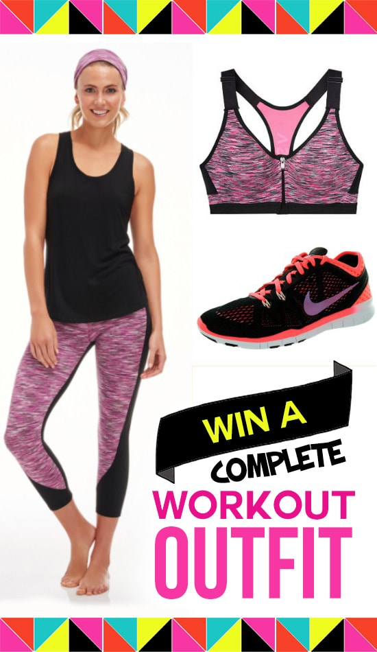 Win a Complete Workout Outfit