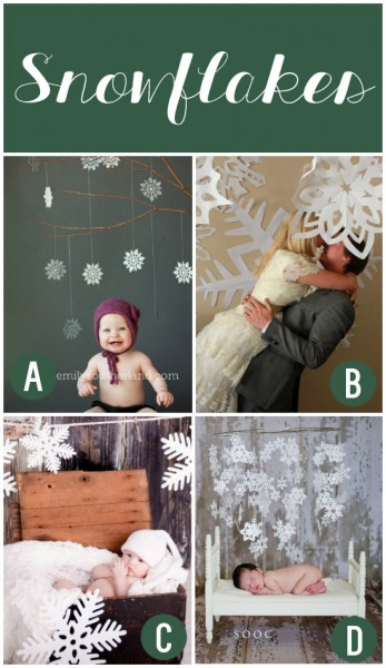 Winter Photography Prop Ideas