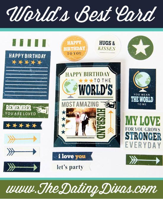 Worlds Best Husband Birthday Card