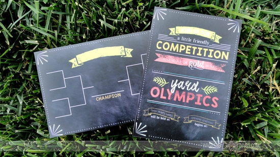 Yard Games Olympic Bracket