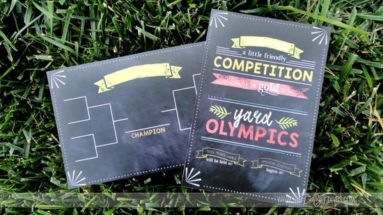 Yard Games Olympic Bracket