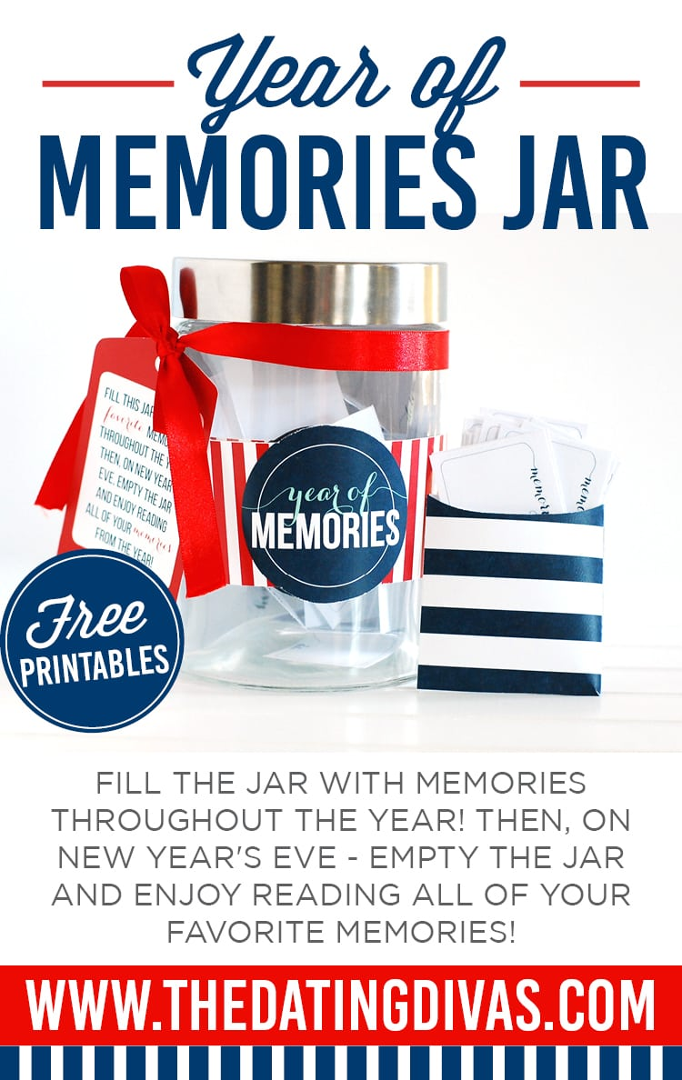 year of memories jar a new year 39 s idea. Black Bedroom Furniture Sets. Home Design Ideas
