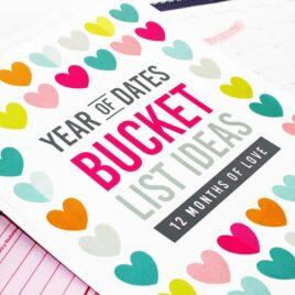 Year of Date Night Bucket Lists