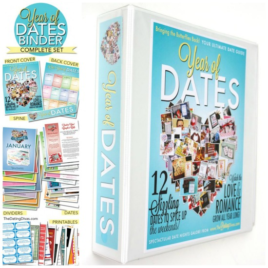 Wedding Gift Year Of Dates : The Year of Dates Binder