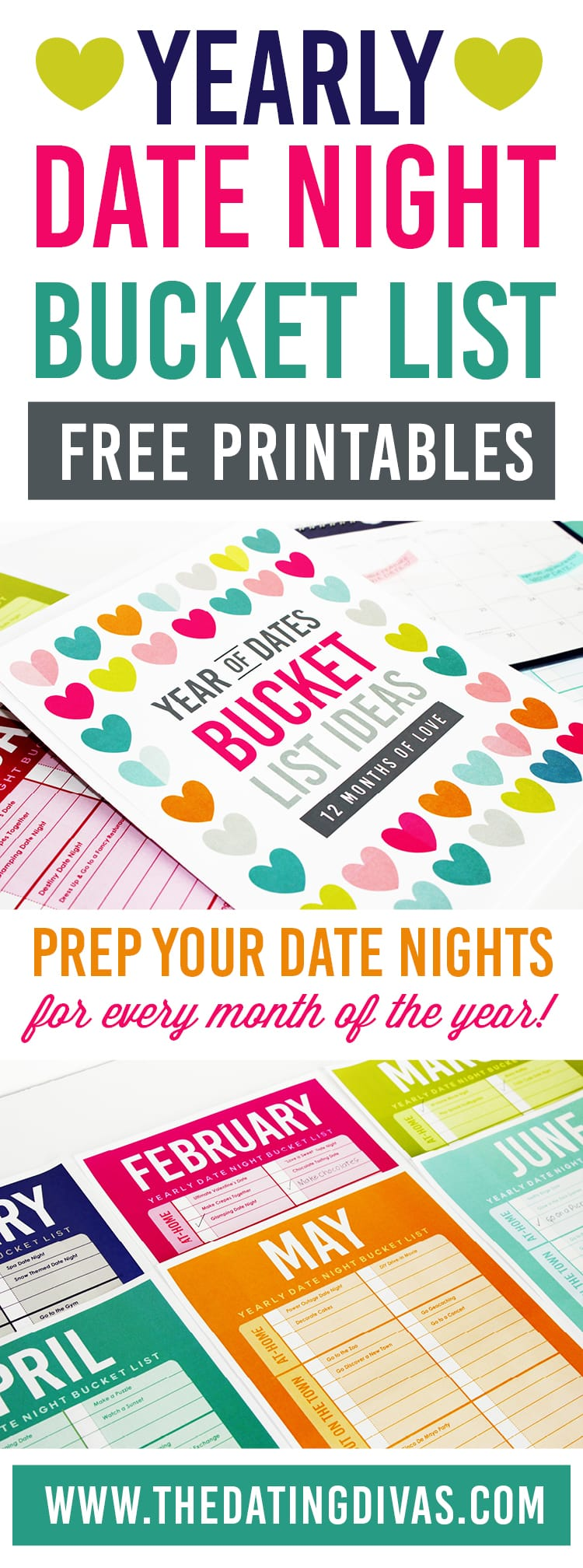 Yearly Date Night Bucket List