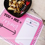 You and Me Love Story Placemats