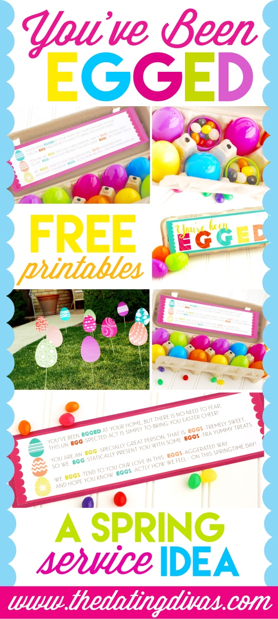 photograph relating to You've Been Egged Printable identified as Youve Been Egged! A Spring Provider Concept