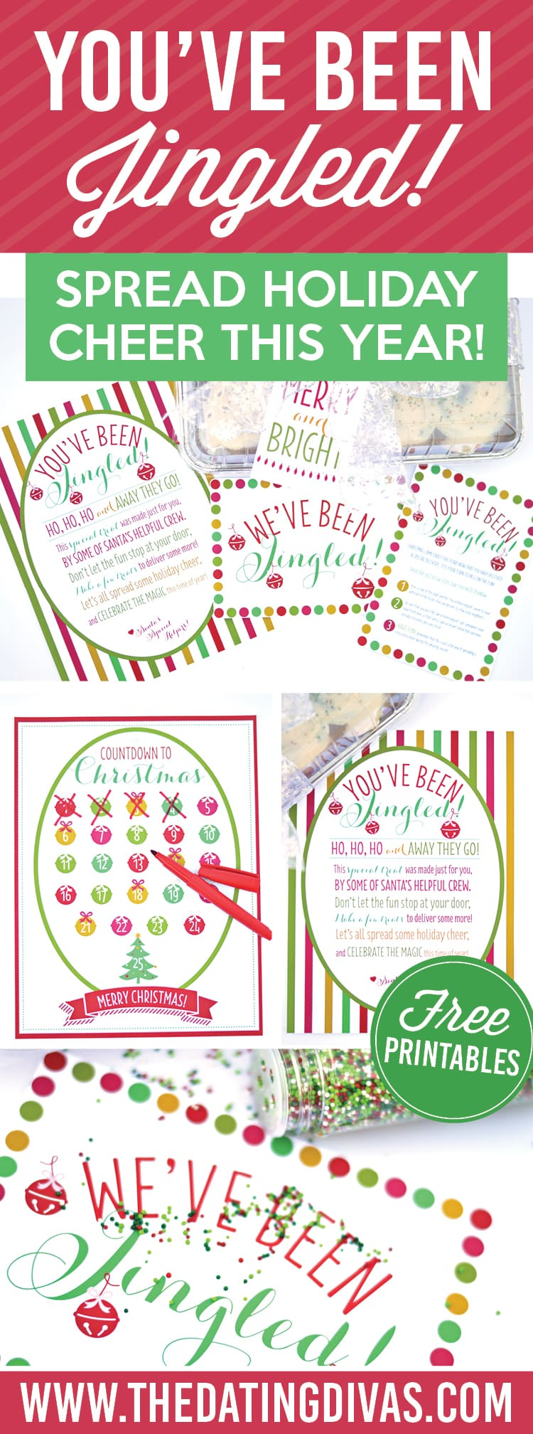 picture about You've Been Elfed Free Printable referred to as Youve Been Jingled! - A Xmas Lifestyle!