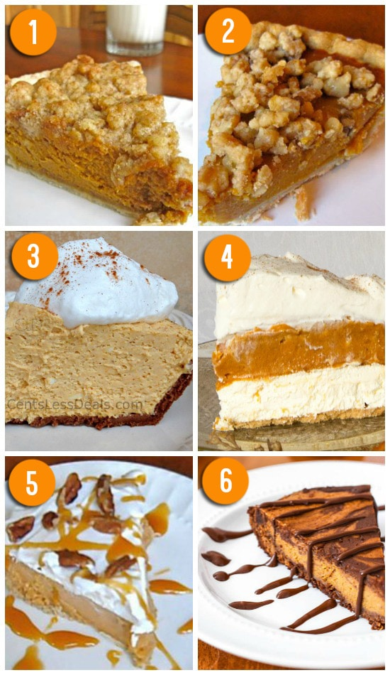 Yummy Pumpkin Pie Alternatives