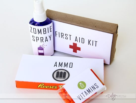 Zombie Survival Kit Detail