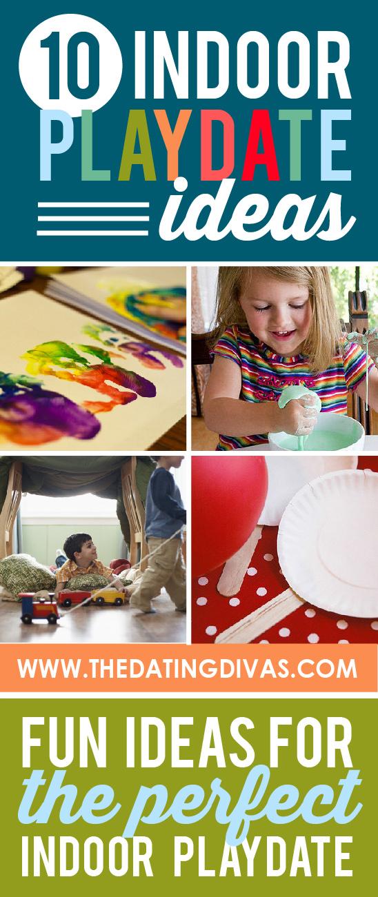 great indoor play date ideas