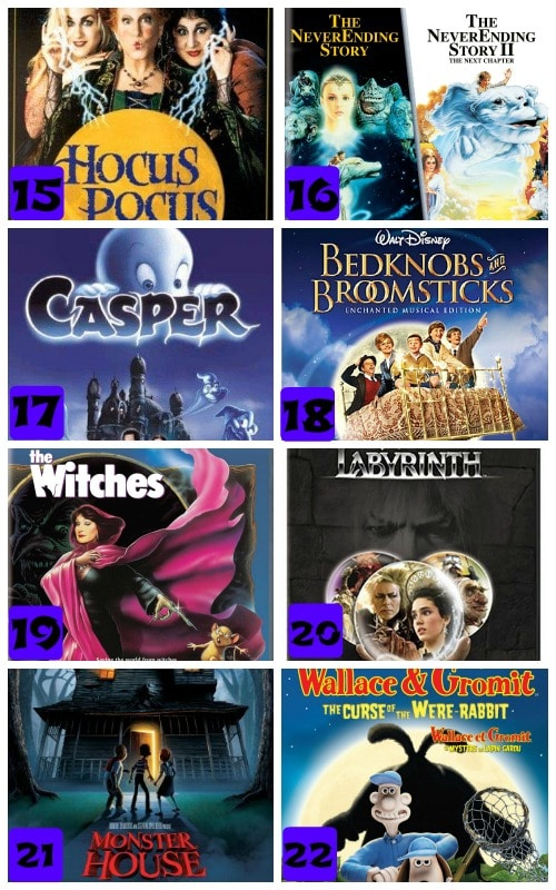 amazing kid friendly halloween movies