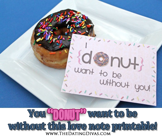 Donut Printable for LDR