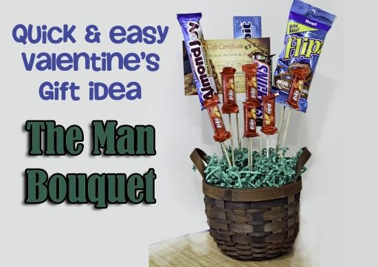 Diy Valentine S Man Bouquet Tutorial