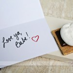 """I Need S'MORE of You"" Printable Love Note"