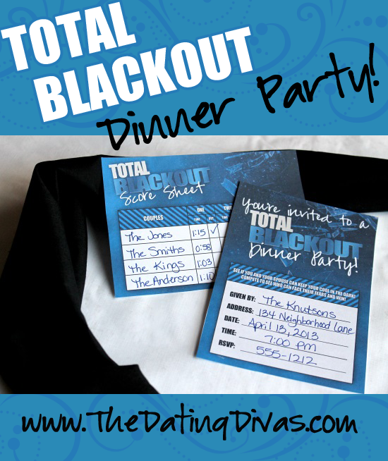 Total Blackout Dinner Party
