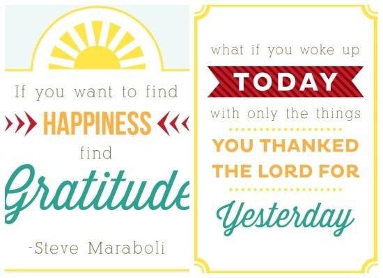 Gratitude Quotes: 10+ Printable Gratitude Quotes