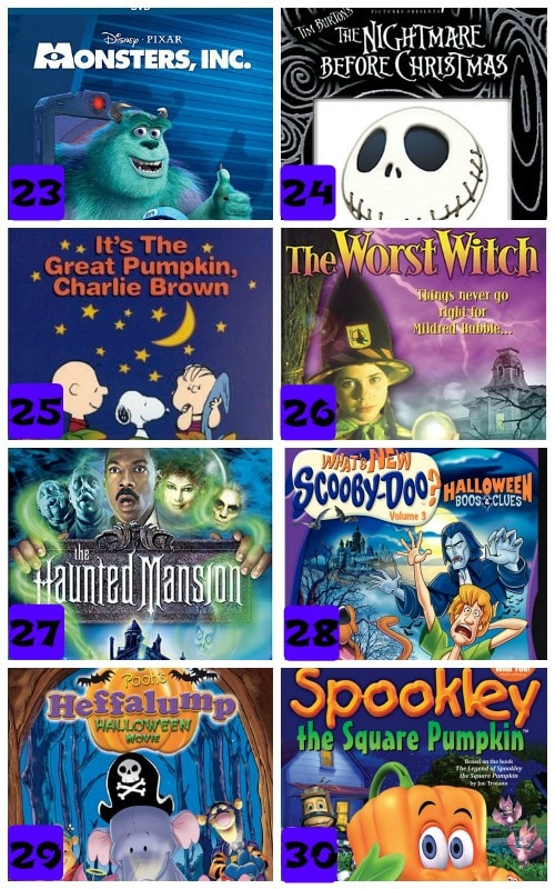awesome kid friendly halloween movies