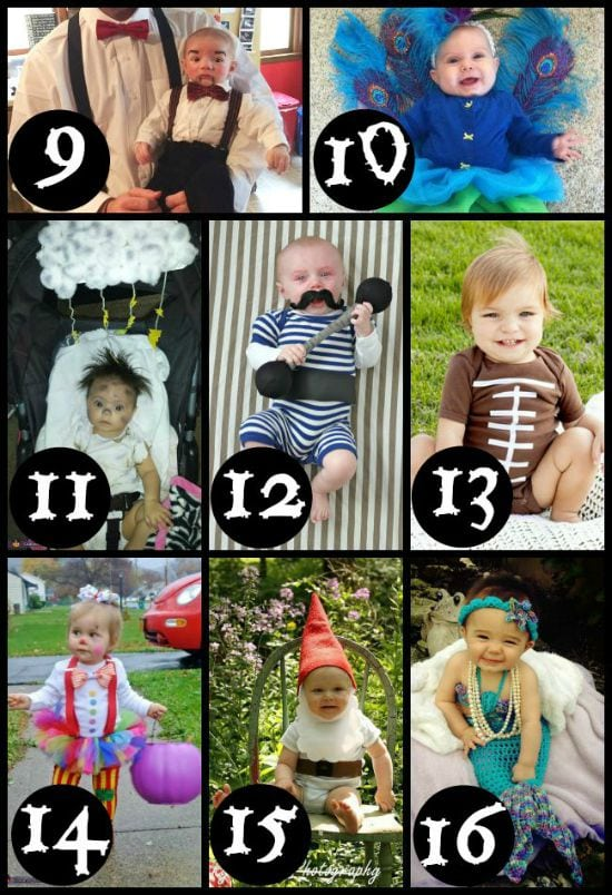 DIY Halloween Costumes for Babies