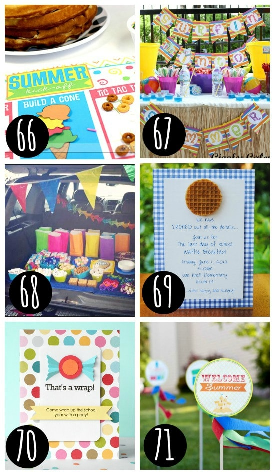 Summer is here! Tons of party ideas!!
