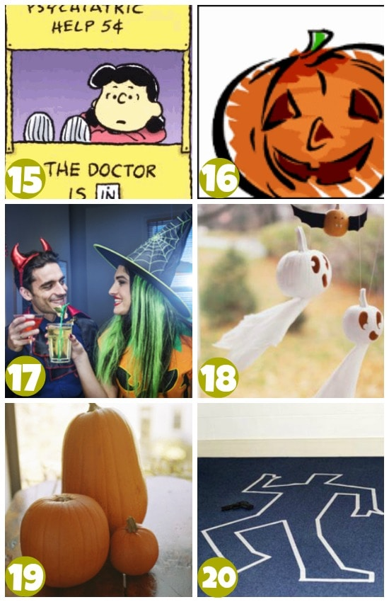 brain teaser halloween games 15-20