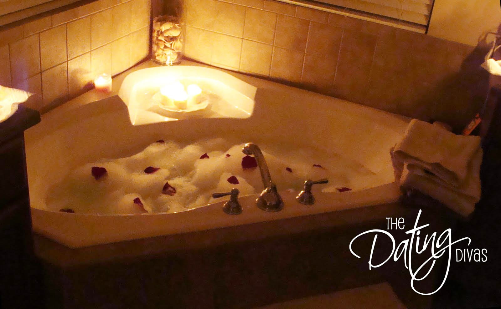 12 perfect valentine 39 s day date ideas for Bathroom romance photos