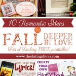 "10 Romantic Ideas to ""Fall"" Deeper in Love"