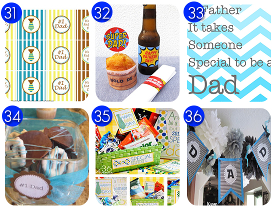 Free Fathers Day DIY gifts