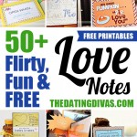 50+ Flirty, Fun and FREE Love Notes