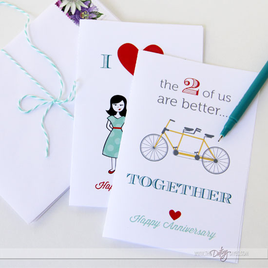Anniversary Printables Gift Pack From The Dating Divas