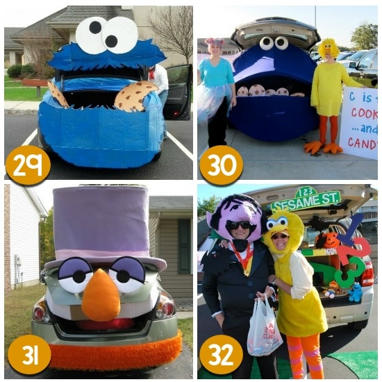 Harry Potter Muppets: Trunk Or Treat Ideas For Halloween
