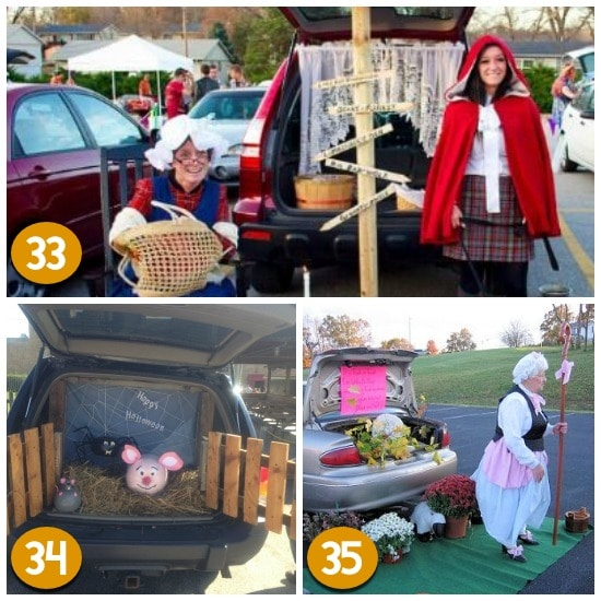 Trunk or Treat Inspiration From Nursery Rhymes