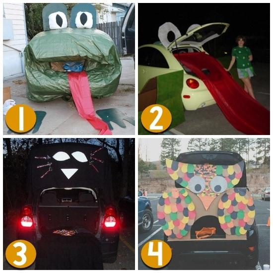 Trunk Halloween Decorating Ideas: 120 Fun & Easy Trunk Or Treat Ideas