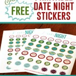 Free Printable Date Night Stickers