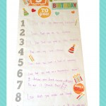 diy birthday banner finished-pinterest
