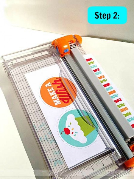 diy birthday banner cutting printables