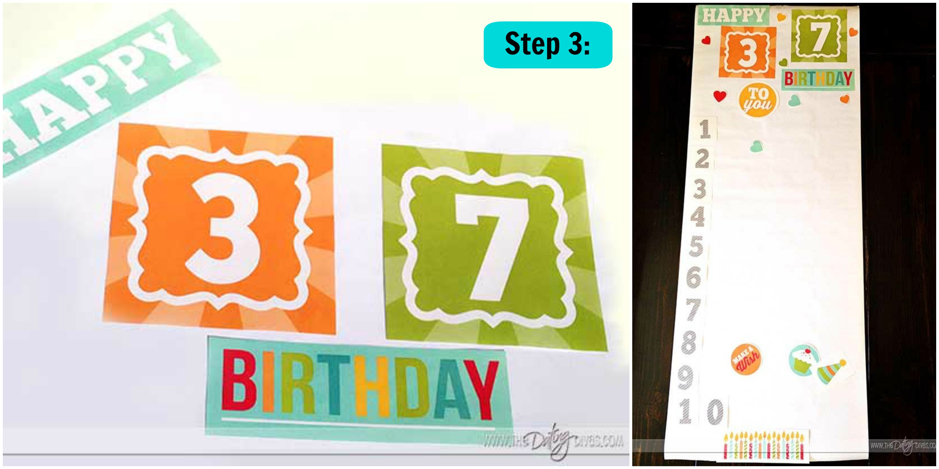 diy birthday banner printables