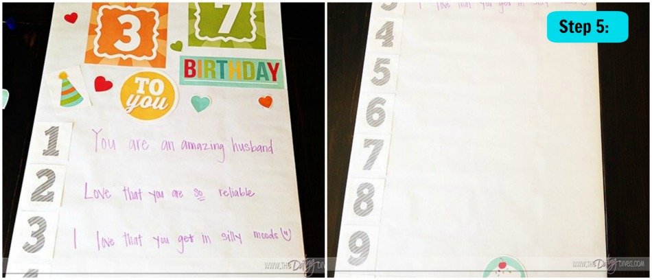 diy birthday banner gift ideas
