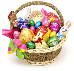 Easter basket ideas lovingyou also had a his and her section for easter basket ideas negle