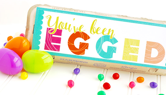 You've been Egged! A Spring Service Idea
