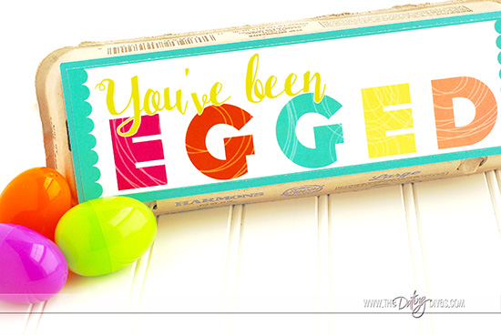 You've Been Egged Service Idea for the Family