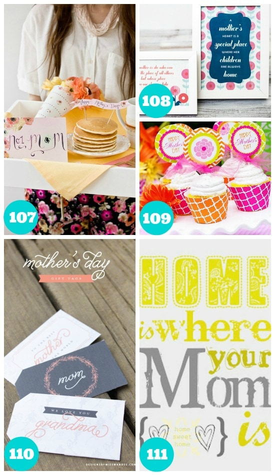 Fun Mothers Day Free Printables