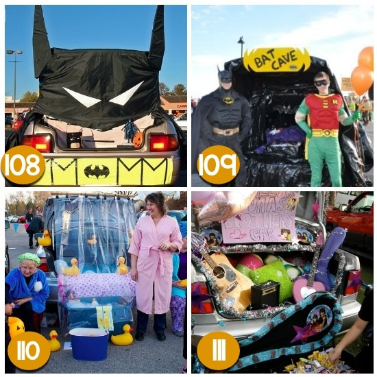 Fun Trunk or Treat Ideas