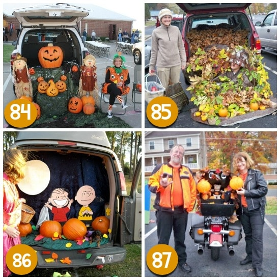 120 fun easy trunk or treat ideas the dating divas - Outstanding kid halloween decorating design idea using scooby doo pumpkin carving ...