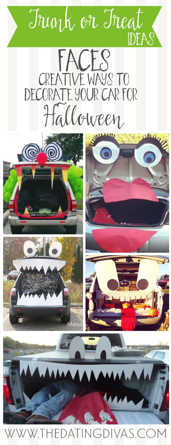 Faces Car Decorating