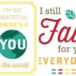 10+ Printable Gratitude Quotes